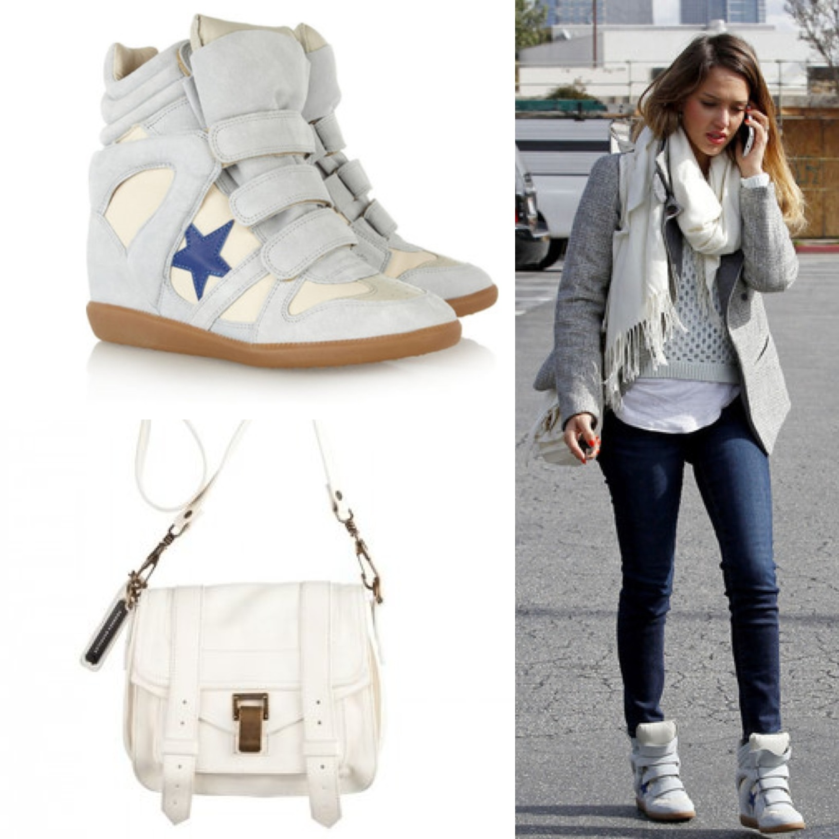 Celebrity bag: jessica alba's proenza schouler